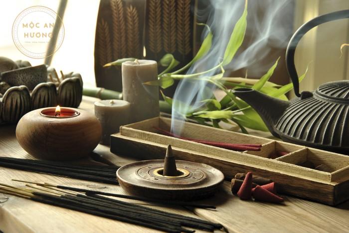 Trầm hương là vật phẩm tâm linh