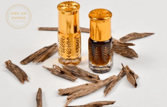 Trầm hương làm tinh dầu