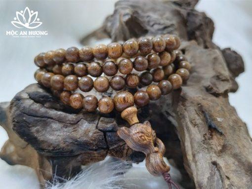 Đeo vòng tay trầm hương 108 hạt có ý nghĩa gì